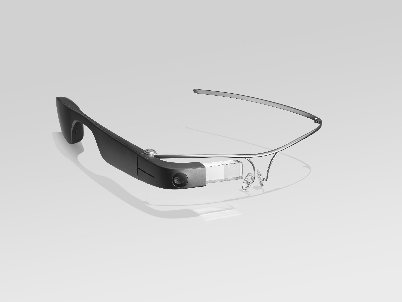 Google eyeglasses with clear trim