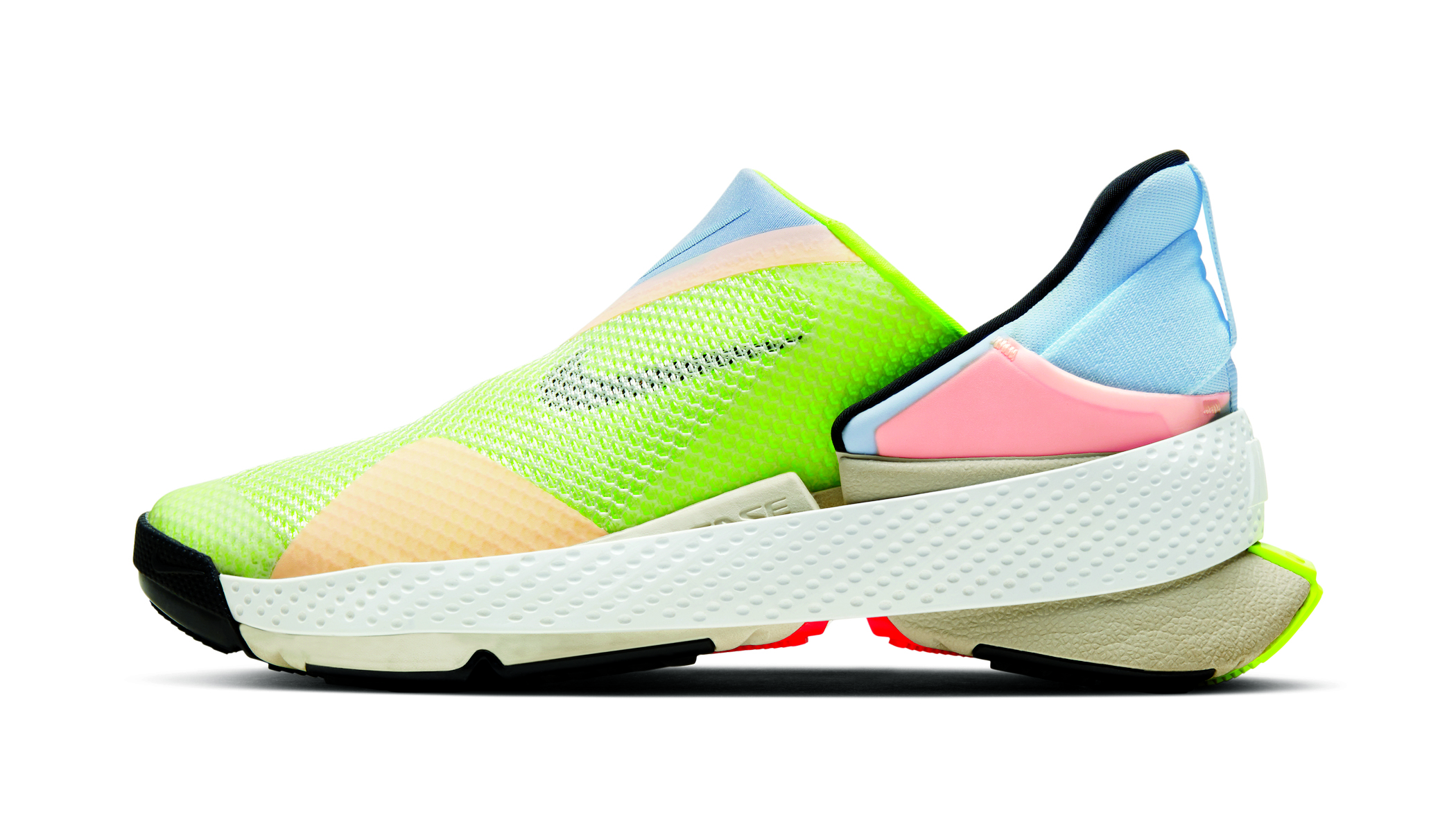 Nike Fly Ease running shoes in multicoloured